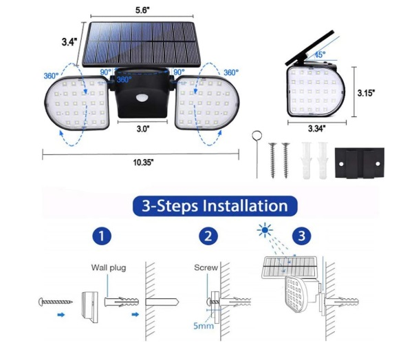 solar spot light reviews
