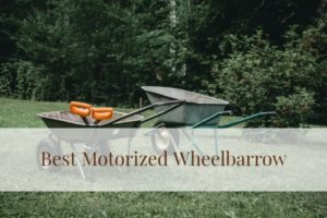 best motorized wheelbarrows