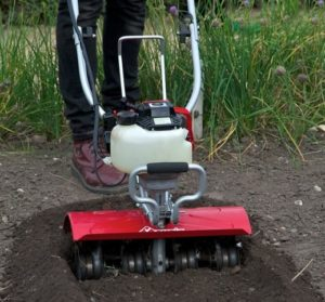 how to use cultivator tiller