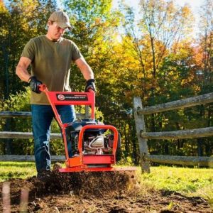 how to use front tine tiller