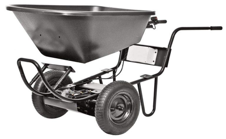 battery powered wheel barrel