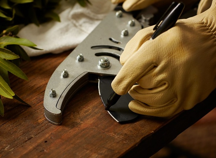 sharpening loppers step by step guide