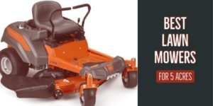 5 acre lawn mower