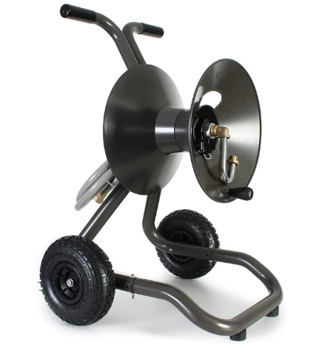 hose reel cart with wheels