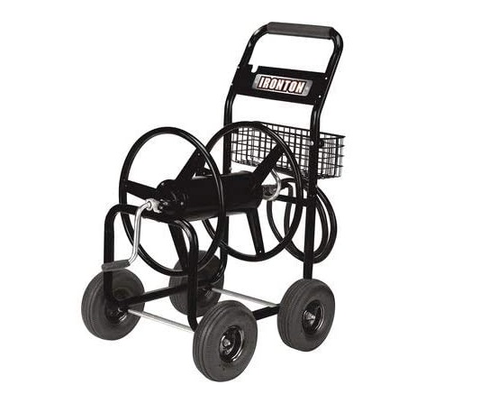 top hose reel cart with wheels