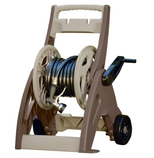 reviews hose reel cart with wheels